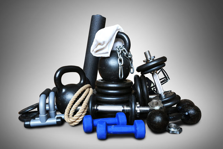 Heavy sports equipment