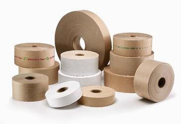 Better Packages Water-Activated Tape Family