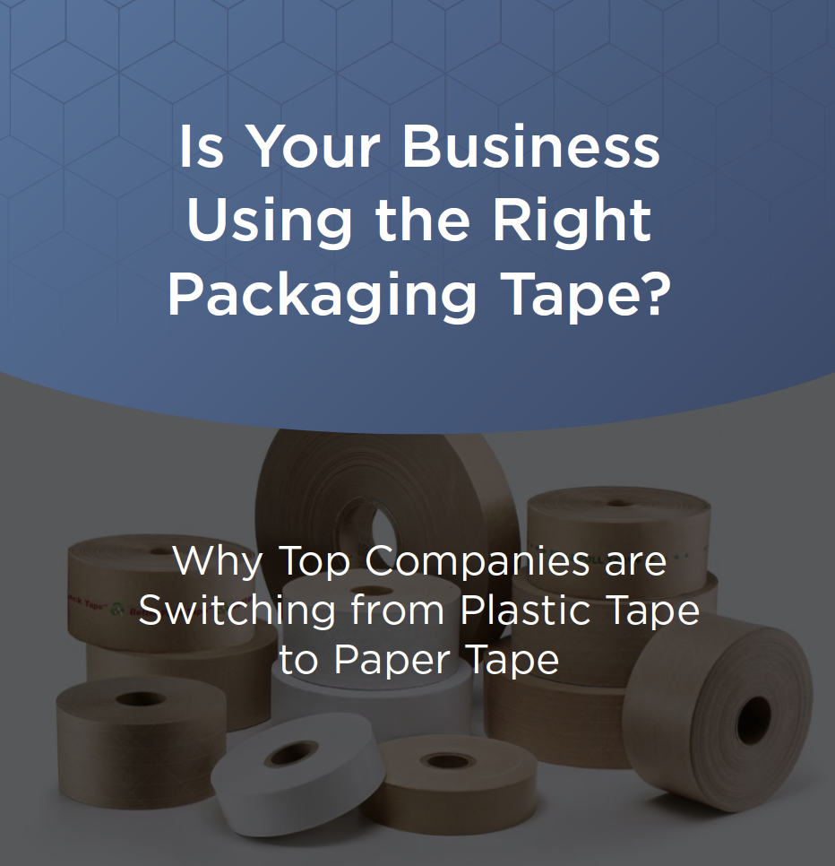 Packaging Tape Pillar Page Cover