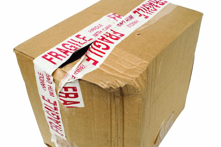 How to Prevent Package Theft with Water-Activated Tape